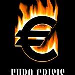 Euro crisis concept — Stock Vector #57076357