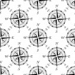 Vintage compass seamless pattern — Stock Vector #57651787