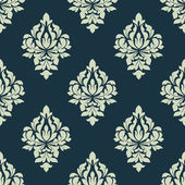 Classic damask seamless pattern — Stock Vector