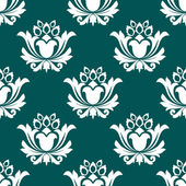 Floral arabesque seamless background pattern — Stock Vector