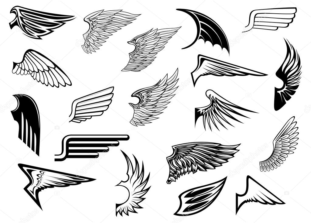 Eagle wings design
