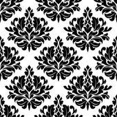 Classic damask floral seamless pattern — 图库矢量图片