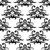 Dainty floral seamless pattern — Stock Vector