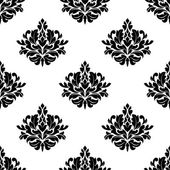 Victorian styled foliate seamless pattern — Stock Vector