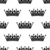 Kraliyet hanedan seamless modeli — Stok Vektör