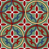 Geometric chinese seamless pattern — Vector de stock