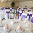 Wedding table appointments — Stock Photo #66228395