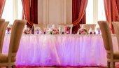 Luxury wedding banquet at restaurant — Stock Photo