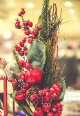 Christmas decoration close-up — Stock Photo