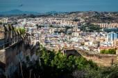 Malaga cityscape — Stock Photo