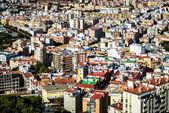 Rooftops of Malaga neighborhood. Andalusia, Spain — Stock Photo