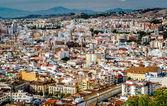 Malaga cityscape. Andalusia, Spain — Stock Photo