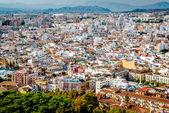 Malaga cityscape. Andalusia, Spain — 图库照片