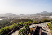 Top view to Arona from the observation deck. Tenerife — Stock Photo