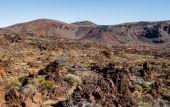 Lunar landscape of Teide National Park. Tenerife. Canary Islands — Stock Photo
