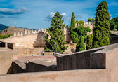 Gibralfaro fortress (Alcazaba de Malaga). Malaga city. Spain — Stock Photo