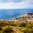 Los Cristianos and Las Americas, view from Guaza mountain — Stock Photo #66202089