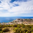 Los Cristianos and Las Americas, view from Guaza mountain — Stock Photo #66202093