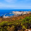 Los Cristianos and La Gomera — Stock Photo #66202187
