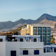 Panorama of Benalmadena town. Malaga, Spain — Stock Photo #66283035