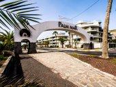 Palm Mar arch — Stock Photo