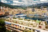 Port Hercules in the principality of Monaco — Stock Photo