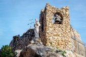Shrine to the Virgin of the Rock in Mijas — Stockfoto