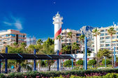 View of the Marbella resort city — Stock Photo