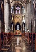 Inside of Saint Catharine Church  — Stock Photo