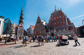 Day view of the Town Hall Square — Stock Photo
