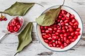 Juicy Pomegranates — Stock Photo