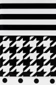 Toile géométrique noir et blanc — Photo