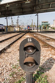 Railway Semaphore Near Haydarpasa — Stock Photo