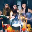Beautiful witches — Stock Photo #54892387