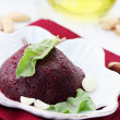 Autumn beet salad with garlic — Stock Photo #60933543