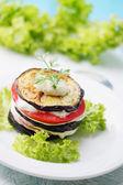 ナスとトマトの前菜 — ストック写真
