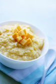 Porridge pumpkin, healthy food — Stock Photo