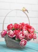 Beautiful artificial roses — Stock Photo