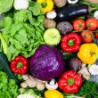 Huge group of fresh vegetables - High quality studio shot — Stock Photo #51892609