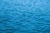 Blue tones of ocean sea water texutre — Stock Photo