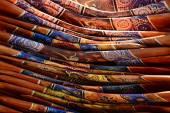Pile of boomerangs — Foto Stock