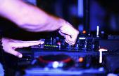 Dj musica notte club — Foto Stock