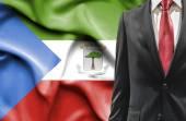 Hombre traje de Guinea Ecuatorial — Foto de Stock