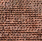 Abstract pattern of roof tiles — Stock Photo