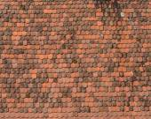 New roof tiles background — Stock Photo