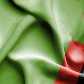 Zambia waving flag — Stock Photo
