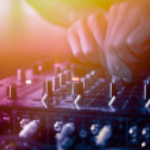 DJ Music night club — Stock Photo #72907433