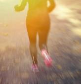 Runner's Feet — Stock Photo