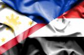 Sventolando la bandiera dello yemen e Filippine — Foto Stock