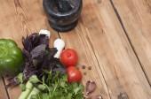 Кулинарные питание фон — Стоковое фото